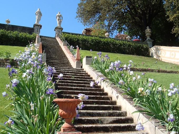 Boboli garten giardino di boboli und palazzo pitti florenz