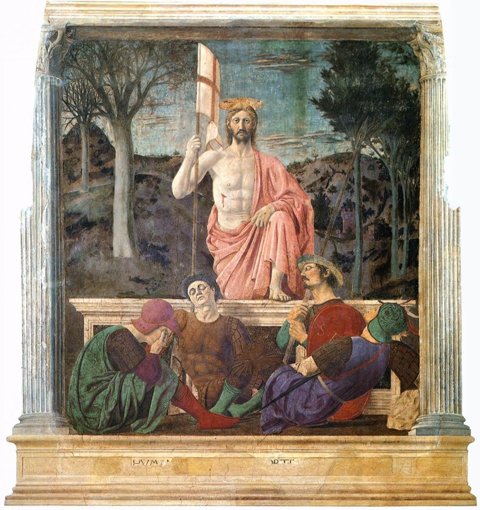 Tour di Piero della Francesca ad Arezzo, Monterchi e ...